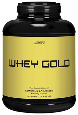 Ultimate Nutrition Whey Gold (2270гр) - фото 6139