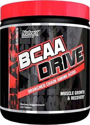 Nutrex BCAA Drive Black (200таб) - фото 6146