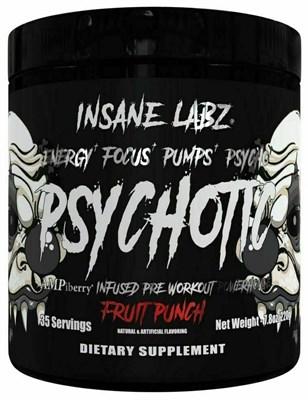 Insane Labz Psychotic Black (220гр) - фото 6153
