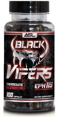 Anabolic Science Lab - Black Vipers (100капс) - фото 6170