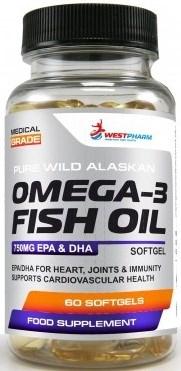 WESTPHARM - Omega 3 Fish Oil (60капс) - фото 6218