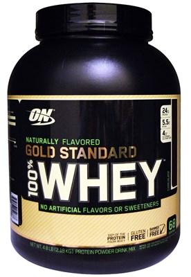 Optimum Nutrition - 100 % Natural Whey Gold Standart Gluten Free (2179гр) - фото 6221