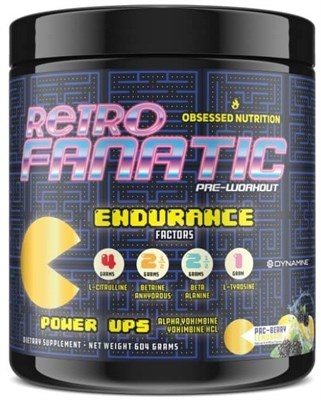 Obssessed Nutrition - Retro Fanatic (604гр) - фото 6235