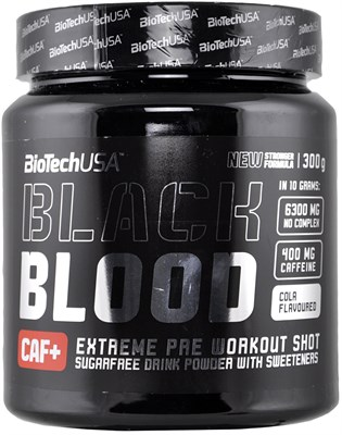 BioTech USA Black Blood CAF+ (300гр) - фото 6284