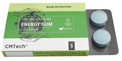 CMTech Energy Gum caffein 100mg (6шт) - фото 6293