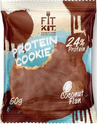 Fit Kit Protein Chocolate Cookie (50гр) - фото 6296
