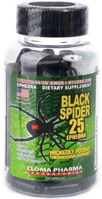 Cloma Pharma - Black Spider (100капс) - фото 6302