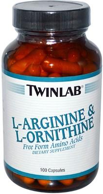 Twinlab L-Arginine &  L-Ornithine (100капс) - фото 6305