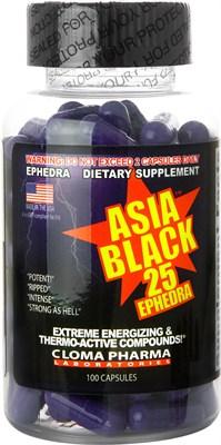 Cloma Pharma - Asia Black (100капс) - фото 6307