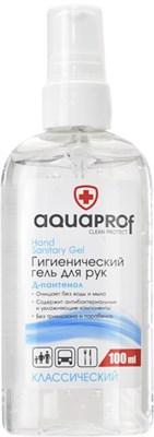 AquaProf Гигиенический гель для рук (100 мл) - фото 6396