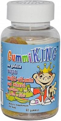 Gummi King multi-vitamin and mineral (60жев.таб) - фото 6424