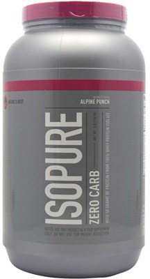 Nature's Best - IsoPure Zero Carb (1362гр) - фото 6435