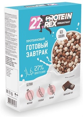 Royal Cake 27% ProteinRex Breakfast Готовый завтрак (250гр) - фото 6447