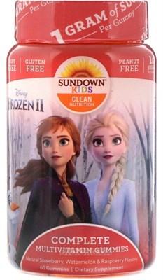 Sundown Naturals Kids Complete Multivitamin Gummies (60жев.таб) - фото 6450