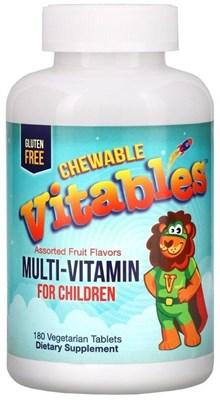 Vitables Chewable Vitables Multi Vitamin & Mineral for Children (180таб) - фото 6460