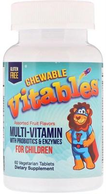 Vitables Chewable Vitables Multi Vitamin & Mineral for Children (60таб) - фото 6461