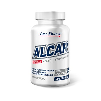 Be First - Alcar (acetyl L-carnitine) (90капс) - фото 6477