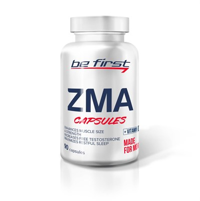 Be First ZMA + Vitamin D3 (90капс) - фото 6478
