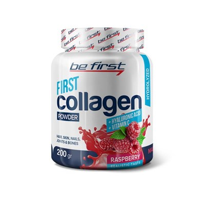 Be First - COLLAGEN + hyaluronic acid + vitamin C (200гр) - фото 6492