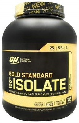 Optimum Nutrition Gold Standard 100% Isolate (2300 гр) - фото 6511