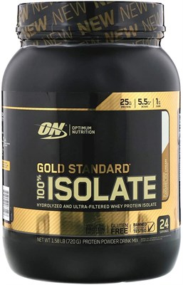 Optimum Nutrition Gold Standard 100% Isolate (744 гр) - фото 6512