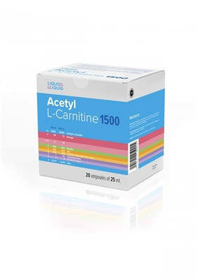 LIQUID & LIQUID - Acetyl L-Carnitine 1500 (20x25мл) - фото 6513