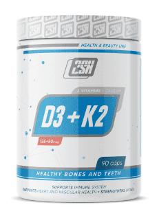 2SN Vitamin D3+Calcium+K2 (90капс) - фото 6519