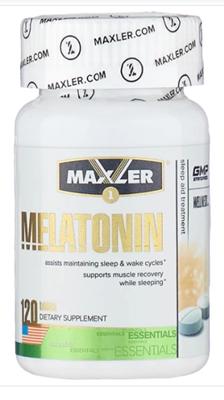 Maxler Melatonin 3 mg (120таб) - фото 6532