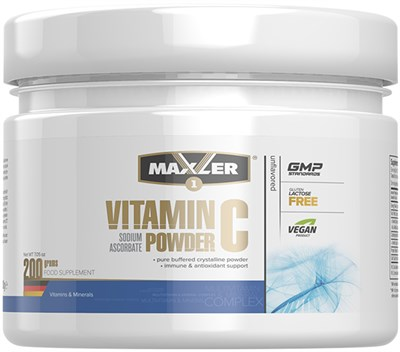 Maxler Vitamin C Powder (200гр) - фото 6533