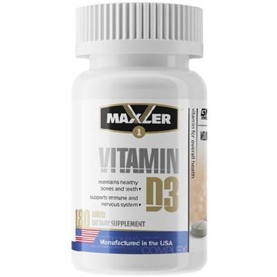 Maxler Vitamin D3 1200 IU (180таб) - фото 6535