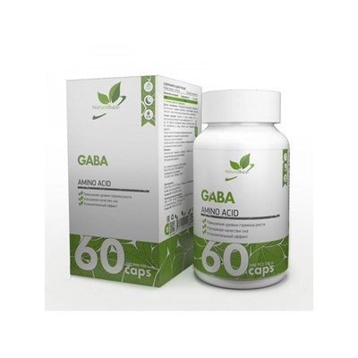 Natural Supp GABA 500mg (60капс) - фото 6546