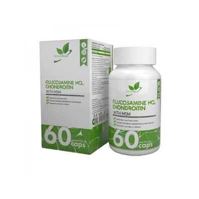 Natural Supp Glucosamine+Chondroitin+MSM (60капс) - фото 6555