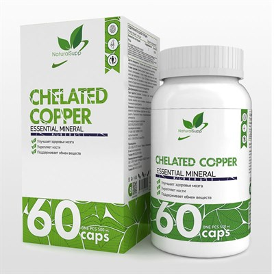 Natural Supp Chelated Copper (60капс) - фото 6563