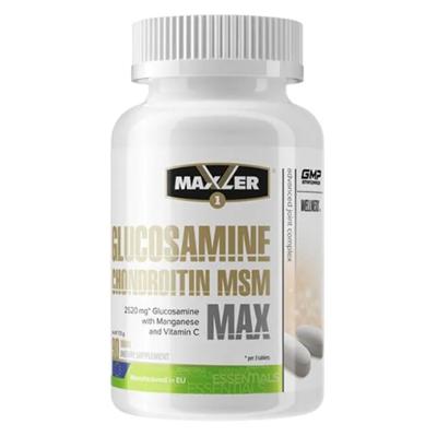 Maxler Glucosamine Chondroitin MSM MAX (90таб) - фото 6595