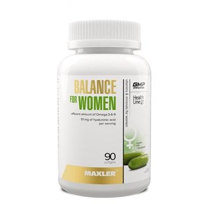 Maxler Balance for Women (90гел.капс) - фото 6605