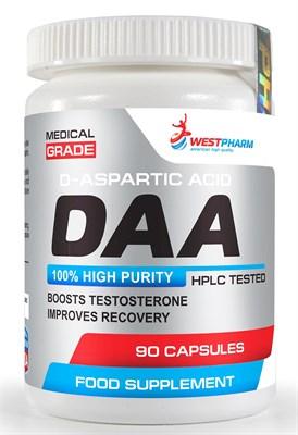 WESTPHARM DAA (D-aspartic acid) 500mg (90капс) - фото 6645