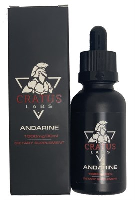Cratus Labs - Andarine liquid S4 1500мг (30мл) - фото 6667