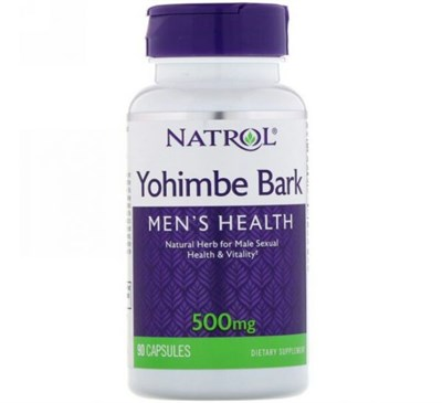 Natrol - Yohimbe Bark (90капс) - фото 6672