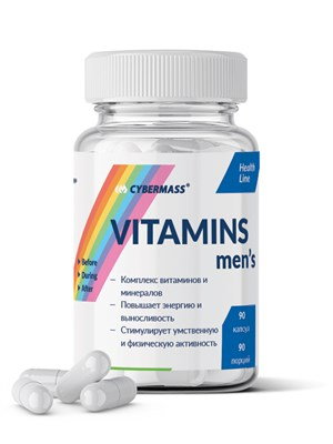 CyberMass - Vitamins mens (90капс) - фото 6718