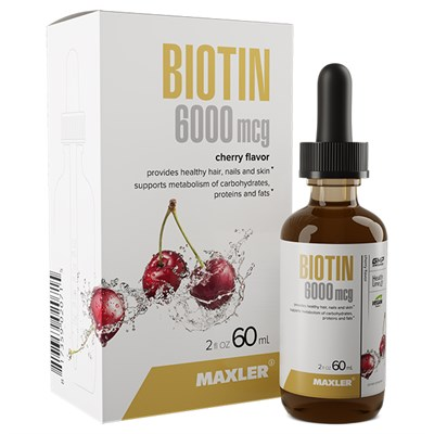 Maxler Biotin 6000 mcg (60мл) - фото 6750