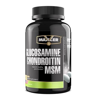 Maxler Glucosamine Chondroitin MSM (180таб) - фото 6768