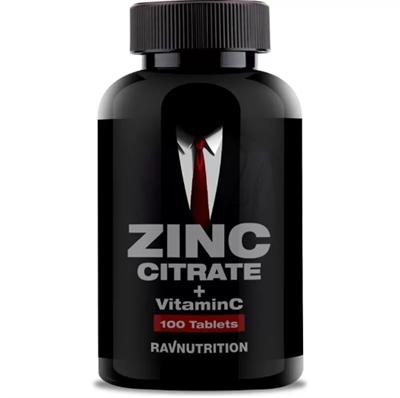RAVNUTRITION Zinc citrate+ vitamin C (100таб) - фото 6776