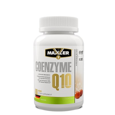 Maxler Coenzyme Q10 (120гел.капс) - фото 6779