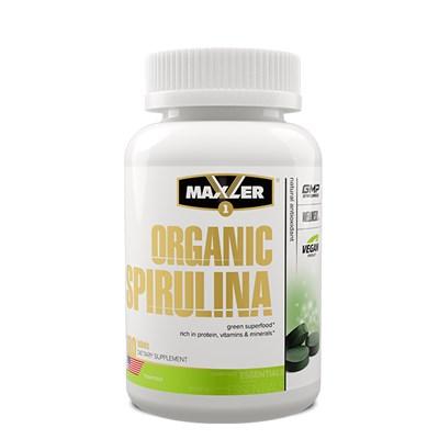 Maxler Organic Spirulina 505 mg (180таб) - фото 6790