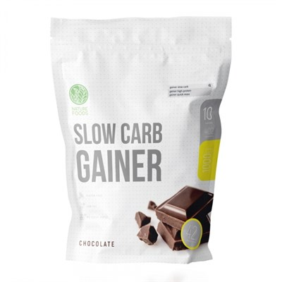 Nature Foods - Slow Carb Gainer (1000гр) - фото 6808