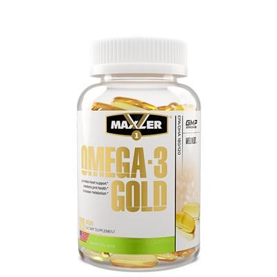 Maxler Omega-3 Gold (120капс) - фото 6816