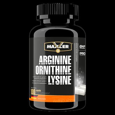Maxler Arginine Ornithine Lysine (100капс) - фото 6829