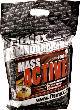 FitMax - Mass Active 20 (2000гр) - фото 6867