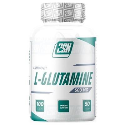 2SN Glutamine 500mg (100капс) - фото 6952