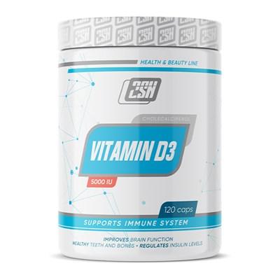 2SN Vitamin D3 5000IU (120капс) - фото 6993